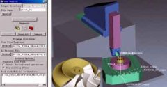 Path simulation of 5-axis high-speed milling based on Vericut