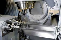 Difficulties in milling large blades of impellers