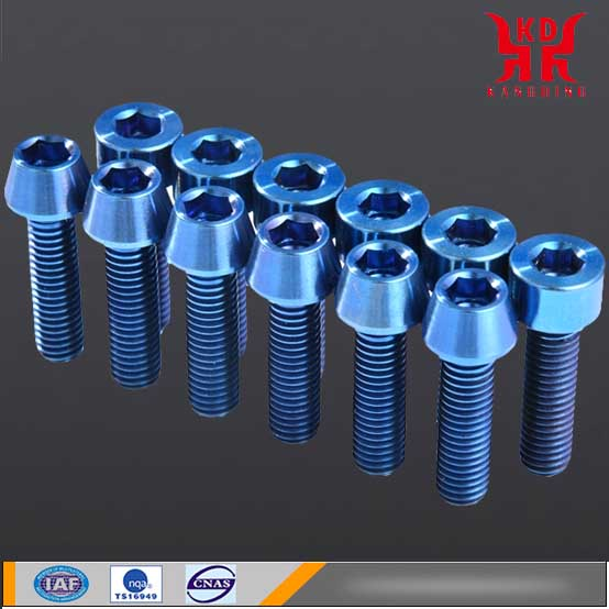 <b>Titanium standard parts - titanium alloy screw manufacturer</b>