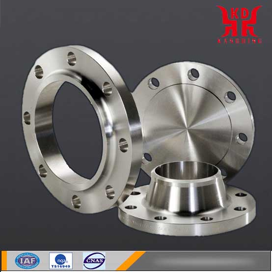 Customized Machining Titanium Flange